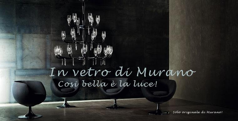 Lampade in vetro di Muranoi