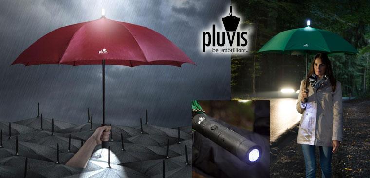 Regenschirm mit LED Licht