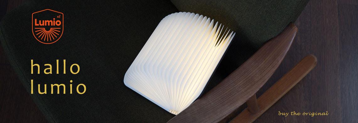 LED Lumio Buchleuchte