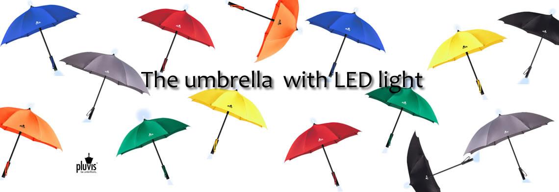 LED Pluvis LED Schirm