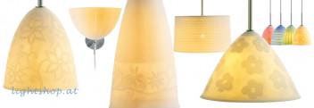 Lámparas de porcelana