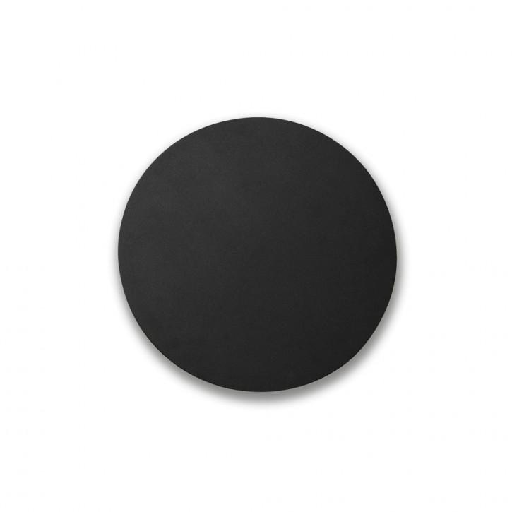 BOARD LED schwarze Wandlampe D 350 mm