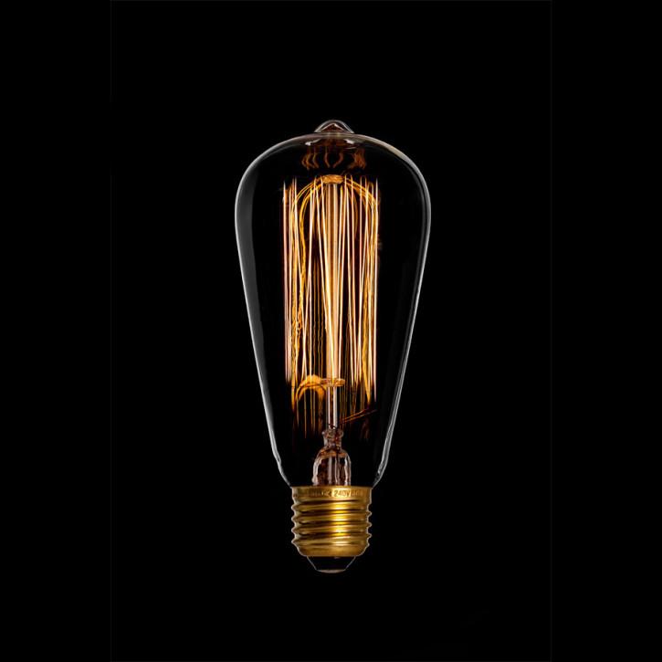 Edison 240V 60W E27 rustika