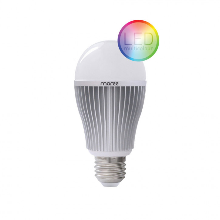 9W RGBW Multi Color de la lámpara LED con control remoto