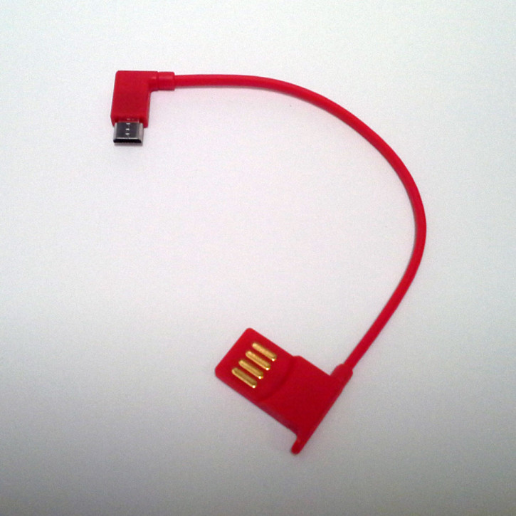Mini Lumio+ Charging cable red