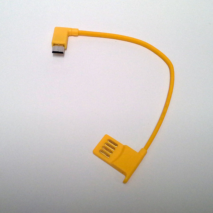 Mini Lumio+ charging cable yellow