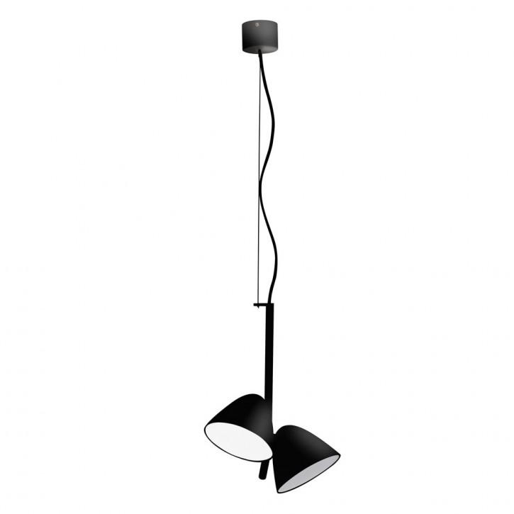 Flash LED schwarz 2L