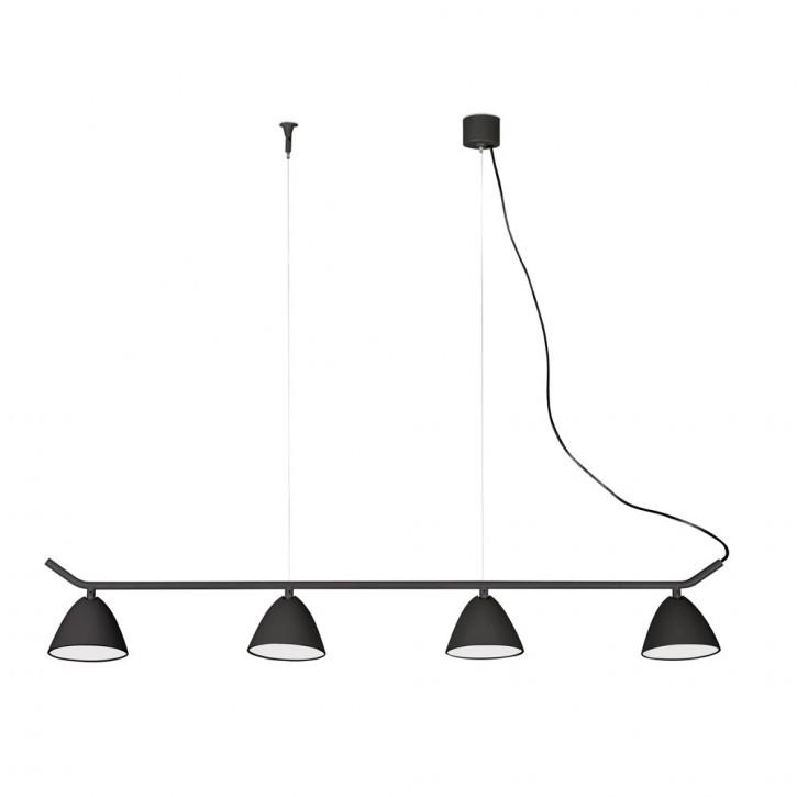 Flash LED schwarz 4L