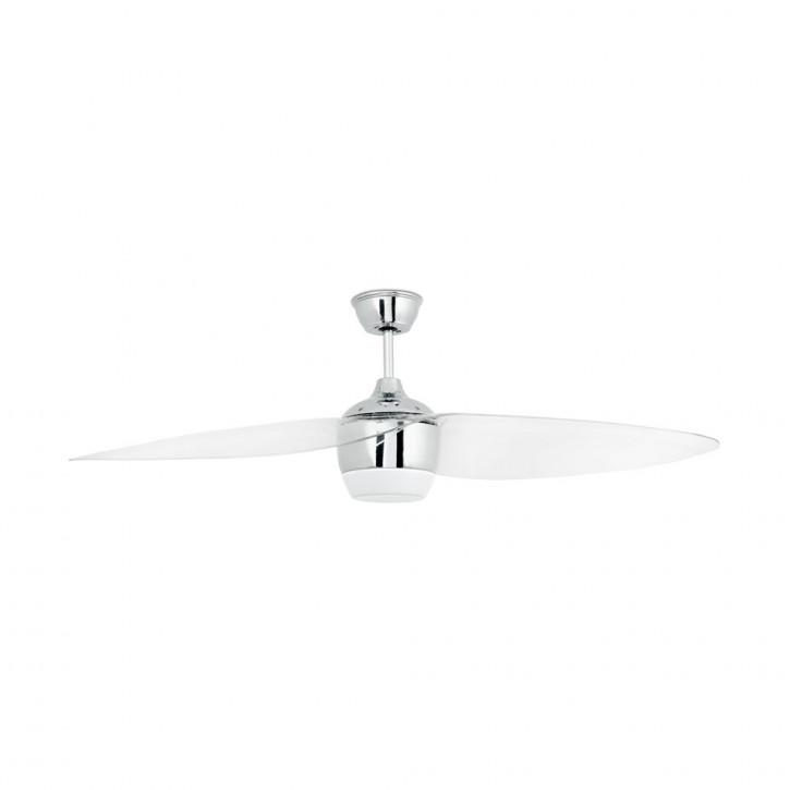 Alaska LED Matt nickel ceiling fan