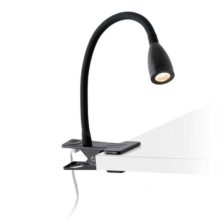 Loke-2 LED clip reading light