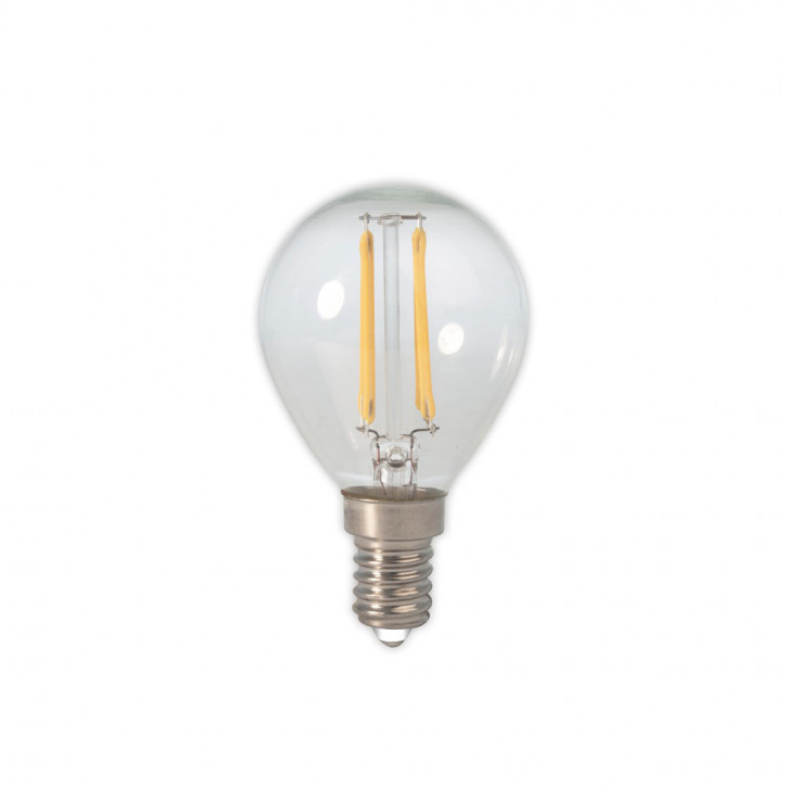 LED filament mini bulb E14 2W 200lm 2700K