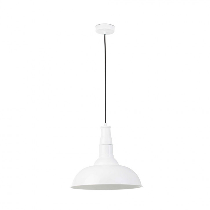 Bar pendant light white