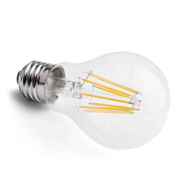 LED-Glühfaden Birne E27 8W 830lm 2700K