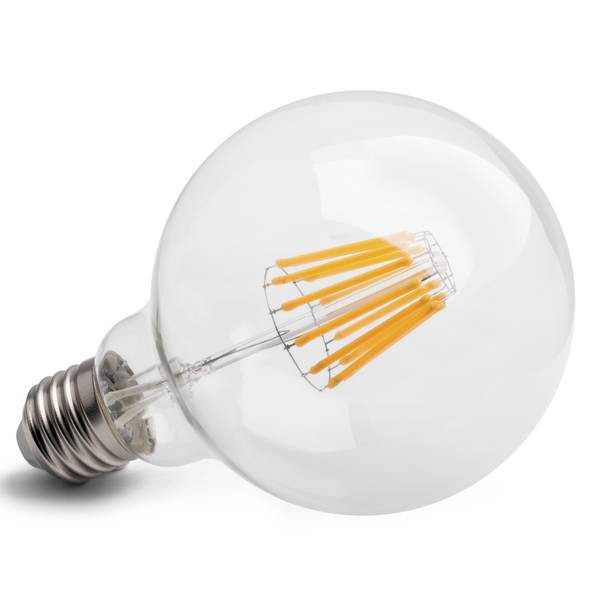 LED-Glühfaden Globe Midi E27 12W 1450lm 2700K