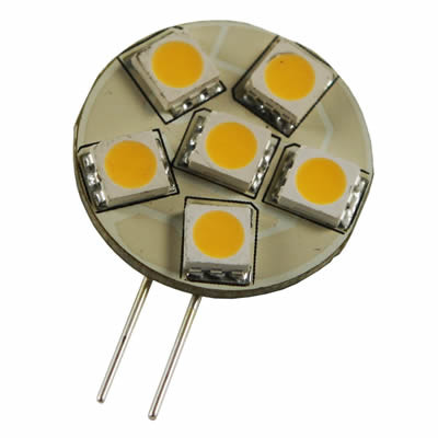 LED Retrofit G4 6 SMD 5050 1.3W WW