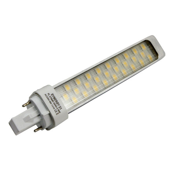 LED G24d-3 6W 480Lm del base giratoria WW