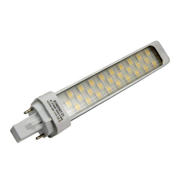 LED G24d-3 6W 520Lm del base giratoria BF