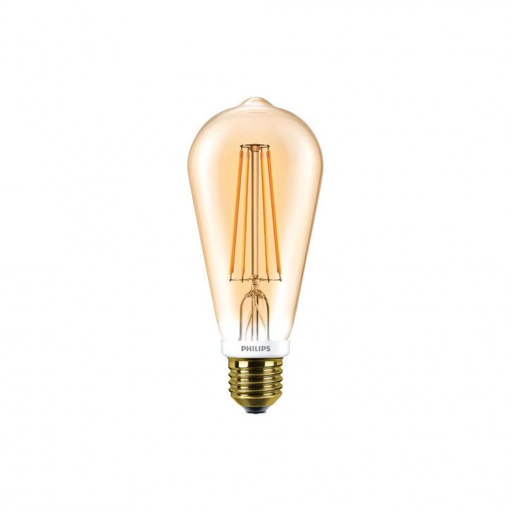 Philips Classic LED Bulb 7W 2500K 720lm gold dimmbar