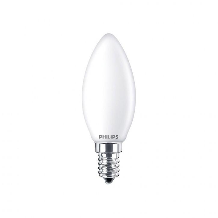 Philips Classic LED candle 6.5W 806lm 2700K matt
