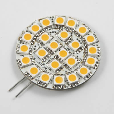 LED Retrofit G4 24 SMD 5050 5 W WW