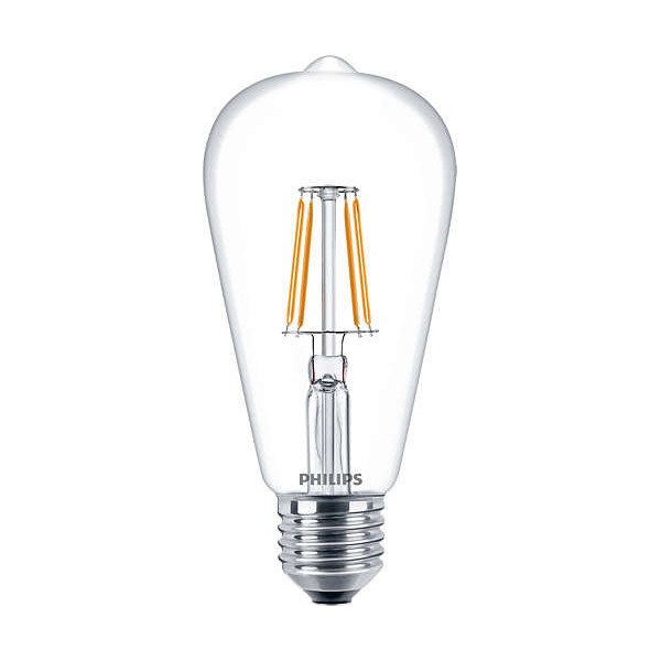 LED incandescent Edison ST64 - E27 4.3W 470lm 2700K