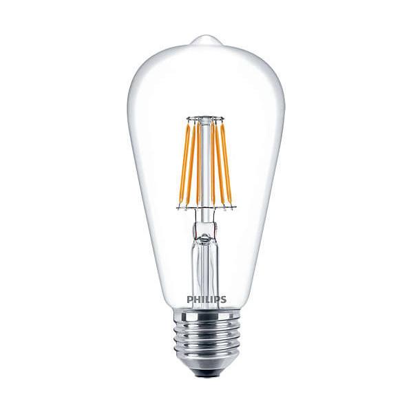 LED-filament bulb Edison ST64 - E27 7.5W 806lm 2700K