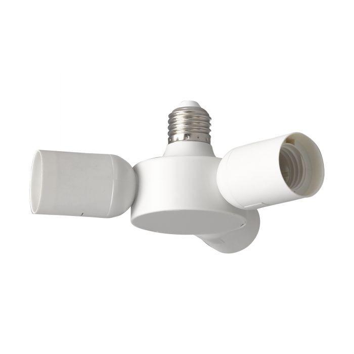 Adaptador para lámparas LED 1> 3xE27