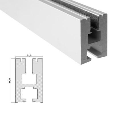 LED-Stripes Profil - 21.5 x 34.5 mm - opalweiß