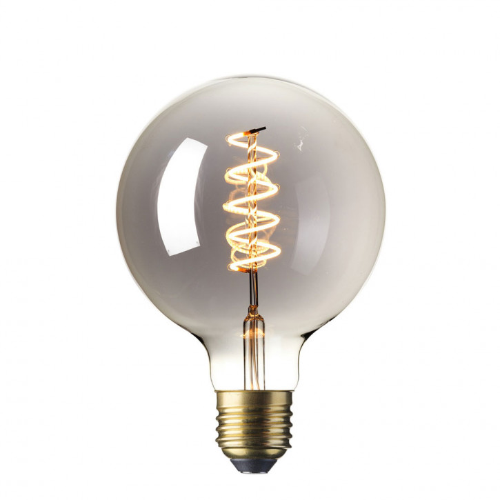LED Vollglas Flex Filament Globe Titan 3.9W 100lm 2100K dimmbar