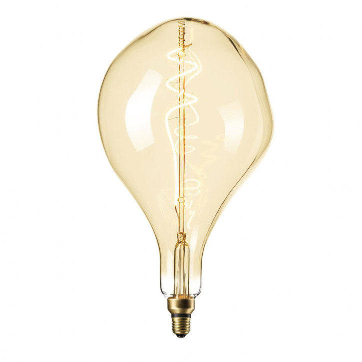 XXL Organic LED lamp Gold 6W 300lm 2200K