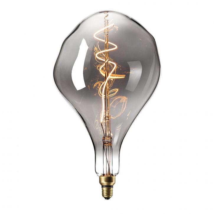 Lámpara LED ecológica XXL Titanio 6W 90lm 2200K