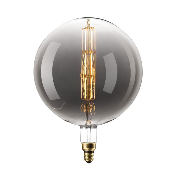 XXL Manhattan LED Globelamp Titane 8W 200lm 2200K