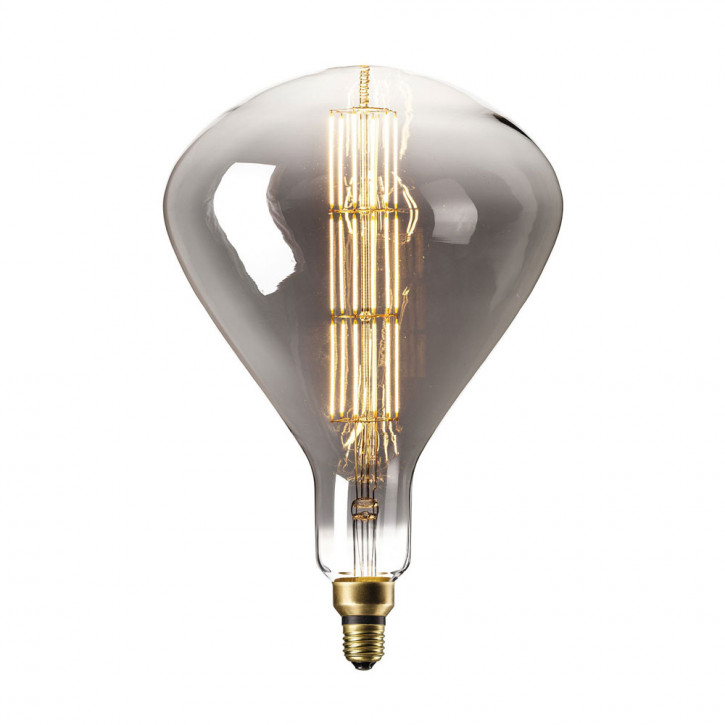 XXL LED Lampe Sydney Titanium 8W 200lm 2200K