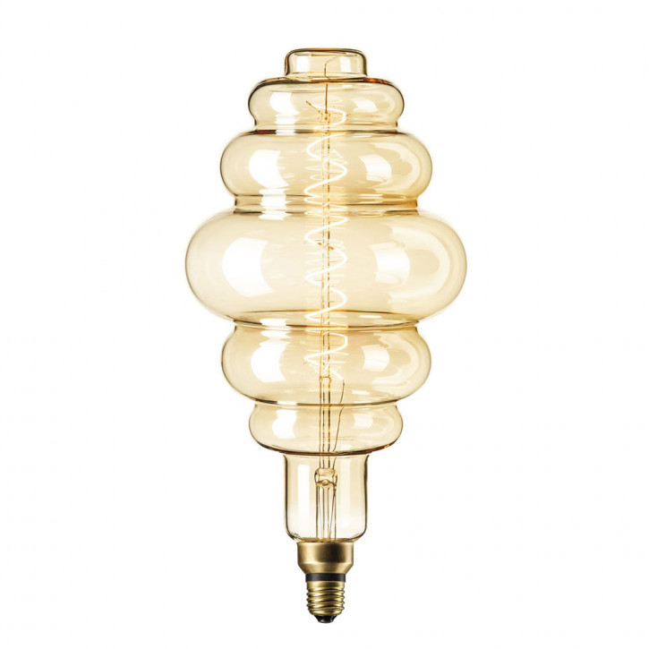 XXL LED Lampe Gold Paris gold 6W 350lm 2200K