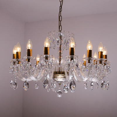Crystal chandelier 16 lights