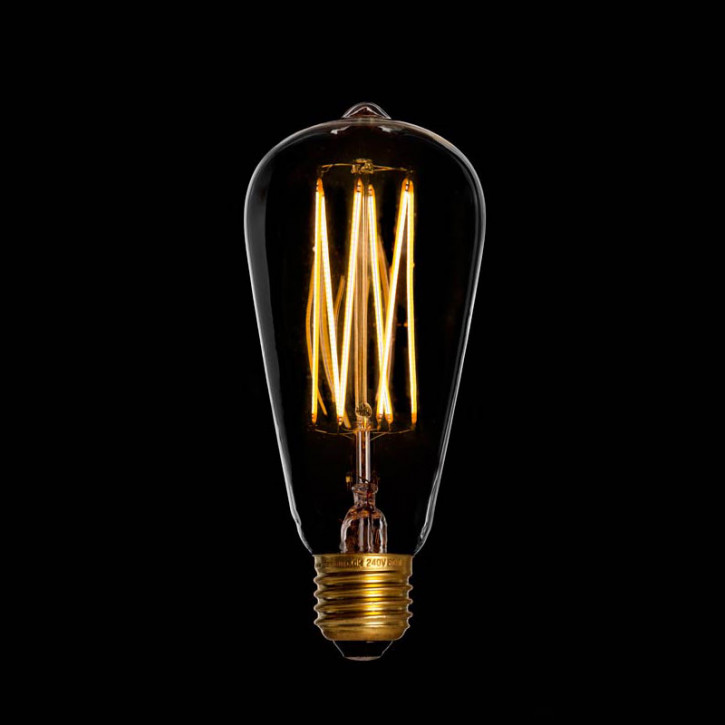 Edison LED E27 6W 420lm 2200K Regulable