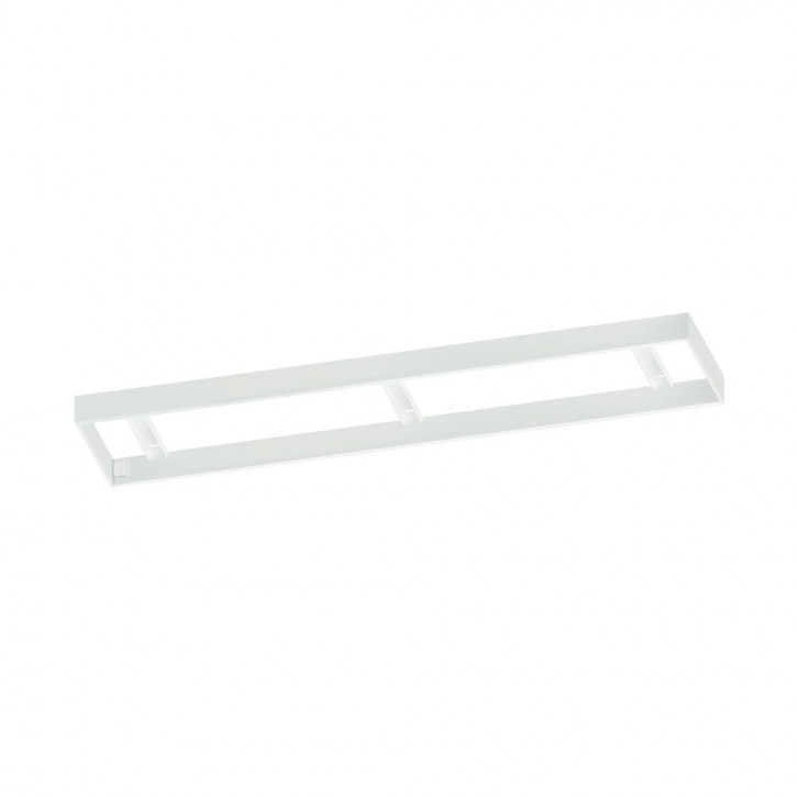 Salobrena 1 LED Panel, Stahlrahmen weiss