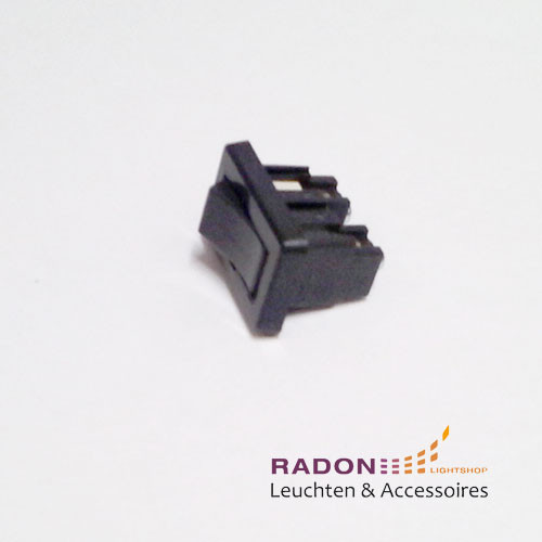 Interruptor basculante negro