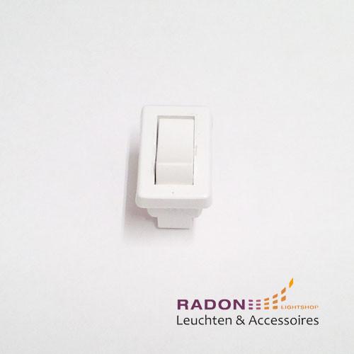 Interruptor basculante blanco