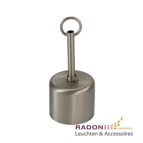 Conjunto de dosel metálico en acero inoxidable