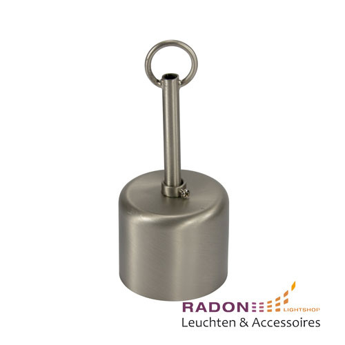 Metall-Baldachin Set in Edelstahloptik