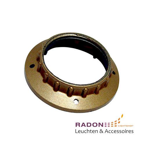 Iso-Schraubring für Gewindemantel-Fassung E27 Kunststoff - gold