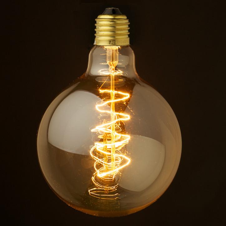 Vintage Edison Globe lamp 240V 40W E27