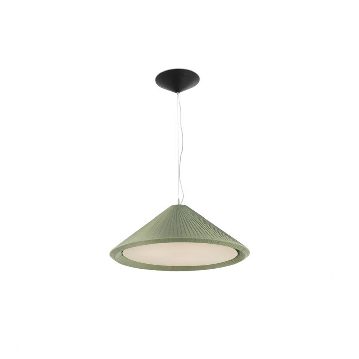 Hue In - Olive green pendant lamp