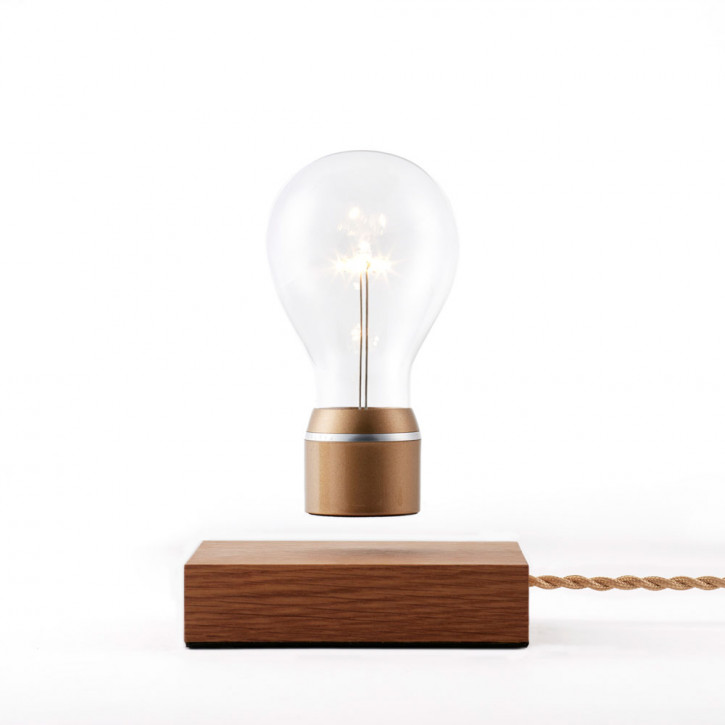 Flyte Royal Oak base Lightbulb with gold cap
