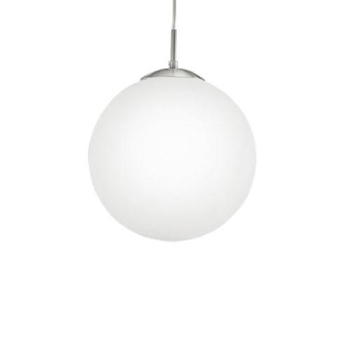 Rondo - Vetro di ricambio di colore bianco opalino opaco