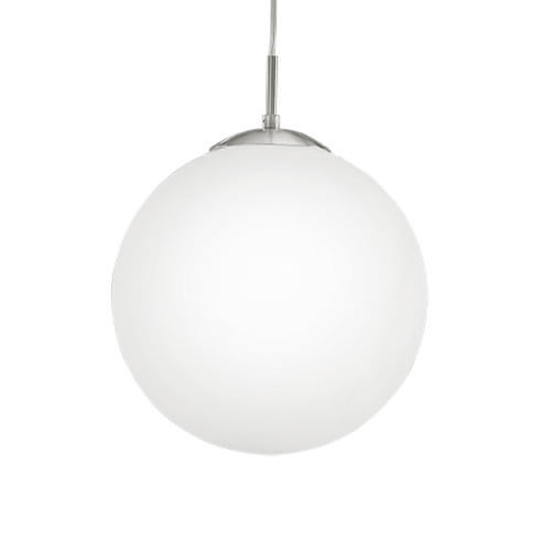 Rondo - Replacement glass in white opal-matt