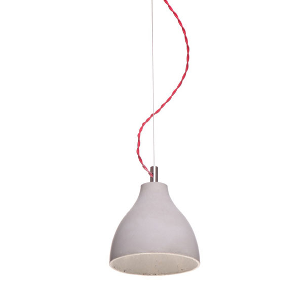 Betonlampe Heavy Light, medio