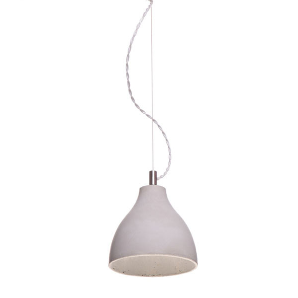 Betonlampe Heavy Light, mittel