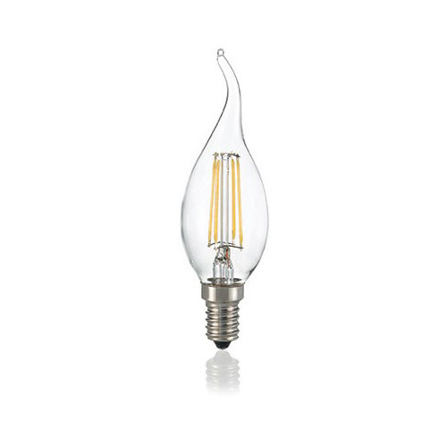LED filament gust candle candle E14 4W 430lm 3000K clear